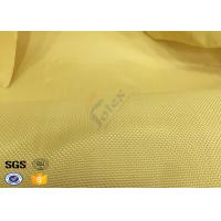 Quality Fire Resistant Bulletproof Plain Kevlar Aramid Fabric For Aerospace , Chemical wholesale