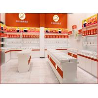 Cheap Customized Size Fast Food Kiosk , Bulk Candy Kiosk For Snack Store / Candy Shop for sale