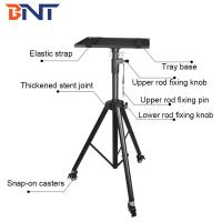 Quality projection stand with snap-on casters projector floor tripod wholesale
