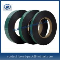 China Green release liner Double Sided PE adhesive foam tape on sale