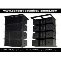 Dual 12 Inch 1560W Line Array Speaker With Neodymium Drivers For Concert , Living Event