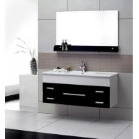 Quality 4mm silver glass mirror modern wall mounted bathroom vanities 32 inch plywood wholesale