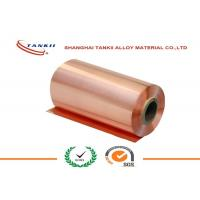 Quality 0.1 * 250mm 340HV hardness Pure Copper Sheet High Yield Strength QBe2 C17200 wholesale