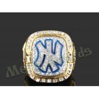 China High End Zinc Alloy Ring New York Yankees Rings For Men UV Resistant on sale