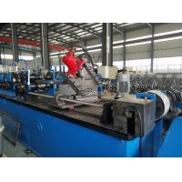 Buy cheap Hydraulic Decoiler Rolling Shutter Strip Making Machine 550mm Steel Coil Width product