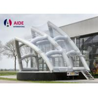 Quality Customized Triangle Inflatable Stage Cover Portable Shell Dome Tent For Music Event wholesale
