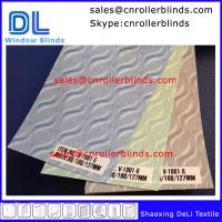 Buy cheap 100% Polyester Jacquard Vertical Blinds from wholesalers