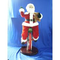 Quality Cute Riding Monocycle Santa Claus singing Educational Toys for Preschoolers wholesale