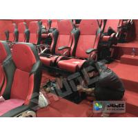 Quality Amusement Park 5D Cinema Equipment With Flat Screen / 6 Seats wholesale