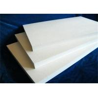 Quality High Temperature Ceramic Fiber Board , Smooth Surface Fireproof Fiber Board wholesale