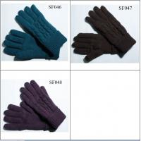 Quality ladies knitted gloves SF046-SF048 high quality and good price women fashion gloves wholesale
