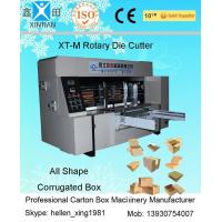 Quality Corrugated Paperboard Cardboard Die Cutting Machine High Speed wholesale