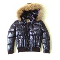 China Stylish Boys Fur Lined Leather Jacket , Custom Embroidered Jackets on sale