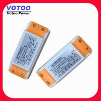 Quality High Efficiency Plastic 12V 1A Constant Voltage LED Driver Power Supply wholesale