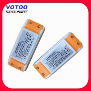 Quality Plastic 12V 1A Constant Voltage LED Driver  wholesale