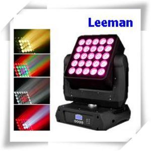 Quality High Efficiency DMX LED Stage Lighting , 25 X 12W Dj Club Lights For Concert / TV Studio wholesale