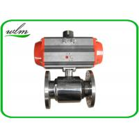 Cheap Elegant Design Sanitary Ball Valves Stainless Steel , Pneumatic Actuated Ball for sale