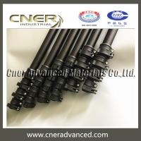 Cheap Telescopic carbon fiber pole,extension pole,telescopic carbon fiber tube with clamps for sale