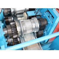 Cheap Solid Steel Shutter Door Roll Forming Machine 30 - 50 M / Min High Speed for sale