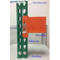 Buy cheap Industrial Storage Steel Pallet Rack Shelving Step Beam Corrosion Protection from wholesalers