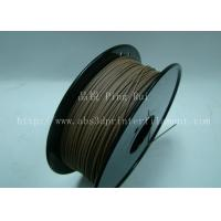 Cheap Anti Corrosion Wooden Filament For 3D Wood Printing Material 1.75mm / 3.0mm for sale