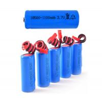 Quality Steady Performance Electric Shaver Battery Pack With 1100mah Capacity , 1S1P 3.7V wholesale