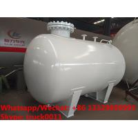 China 2020s new high quality smallest size 5,000Liters surface propane gas storage tank for sale, mini lpg gas storage tank on sale