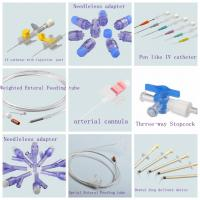 China Medical Consumables manufacturer Medical Consumables products enteral feeding tube arterial cannula catheter on sale