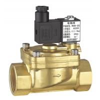 China 2 Way Pilot Operated Low Power Solenoid Valve Normally Closed 3/8 Inch on sale