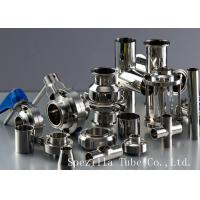 """Cheap TP 316L Sanitary Valves And Fittings Stainless Steel  1"""" Equal TEE ASME BPE for sale"""