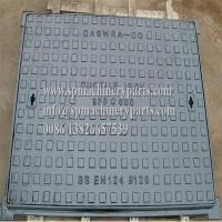 China Light Duty Cast Iron Manufactured BS:EN124 Class A15 Solid Top Covers - Pedestrians and Cyclists on sale
