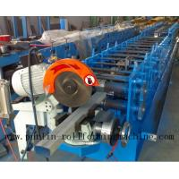 China Downpipe / Water Pipe / Downspout Roll Forming Machine , Drain Pipe Production Line on sale