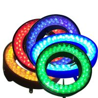 Quality ring led light for microscope illumination colorful red blue green yellow colors wholesale