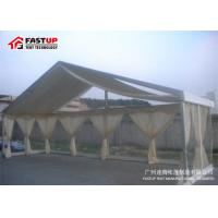 Cheap Contemporary Outside Wedding Tents , Flameproof Clear Wedding Tent OEM Available for sale