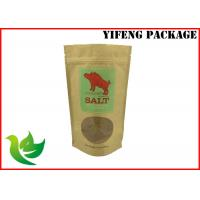 Buy cheap Stand Up Ziplock Bags For Nuts With Kraft Paper Meterial , Free Sample product