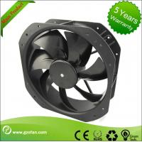 Quality Brushless 24V DC Axial Fan / CPU Cooling Fan 254mm With External Rotor Motor wholesale