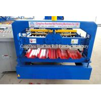 Quality Trapezoid Roofing Sheet Roll Forming Machine 12 month warranty wholesale