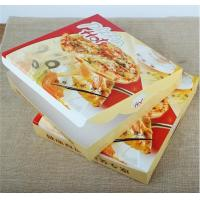 Quality corrugated carton paper packaging pizza box,cheap wholesale custom logo printed pizza box,Environmental customized 16 in wholesale