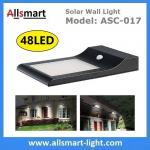 Quality 9W 48LED 850LM Sensitive Motion PIR Sensor Solar Power Corner Lamp LED Light Wall Light Stairway Garden Outdoor Lighting wholesale
