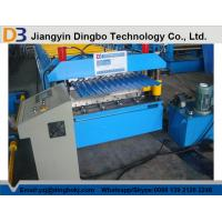 Quality Roof Tile Corrugated Roll Forming Machine Color Steel Plate , 380V 50Hz wholesale