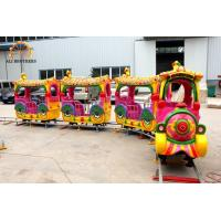 Quality Indoor And Outdoor Amusement Train Rides 40 M Track Length Easy Operating wholesale
