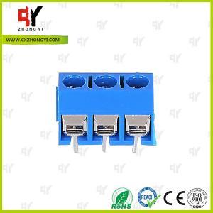 Quality HQ306-5.0 Terminal Block PCB 2P - 3P Pole PA66 UL94V-0 Material wholesale