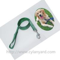 China Pet products of PP lanyard dog leash with heavy duty metal clasp hook, small quantity lot, on sale
