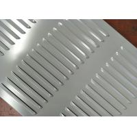 Quality Easy Installation Perforated Metal Mesh Louvers Hole Type Low Maintenance Cost wholesale