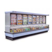 China Painted Steel Combined Display Refrigerator Island Freezer With Big Capacity With Dynamic Cooling on sale