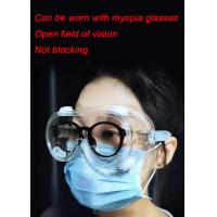 Quality Anti Scratch Eye Protection Goggles Disposable Blocking Body Fluids And Blood Splashes wholesale