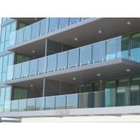Buy cheap Modern Building Project Balustrading For Sale, Glazed Balustrade from wholesalers