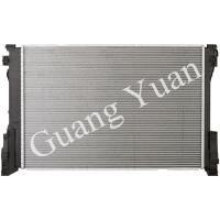 Quality Light Weight Low Noise Mercedes Car Radiator , Custom Aluminum Radiator With Plastic Tank wholesale