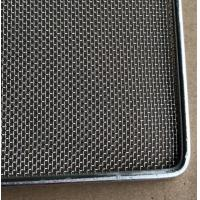 Quality Frame Wire Mesh Tray For Food Baking , Dehydration , 304 Food Grade wholesale