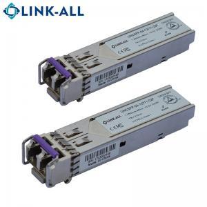 China 1.25G CWDM 1270~1610NM 40km SFP Module fiber optical Transceiver with ddm on sale